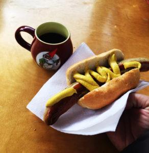 Bratwurst and Gluhwein