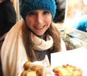 Champignons and Kartoffelpuffer