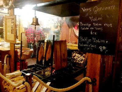 Christmas Market Lock Stand