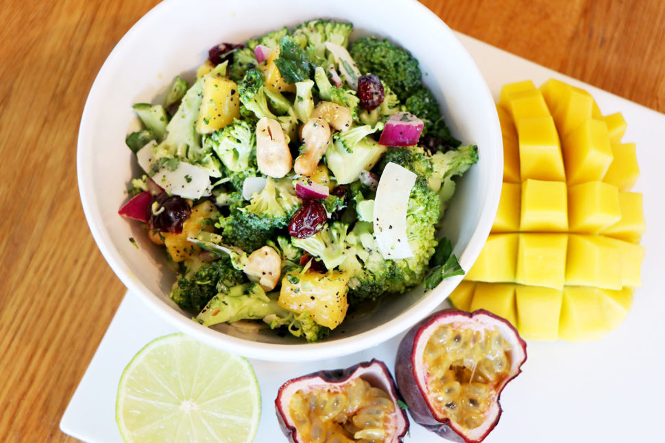 Passion Fruit Broccoli Salad   Experience Delicious